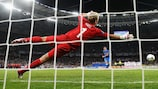 Riccardo Montolivo takes a penalty during Italy's shoot-out success against England in the EURO 2012 quarter-finals