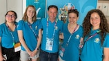 A record 37,000 people applied to be volunteers at UEFA EURO 2020