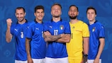 Italy take on England in the final