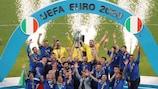 Italien jubelt im Wembley