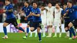 Italia ganó la EURO 2020 en los penaltis