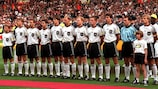 Germany's 1996 squad was packed with Bayern players
