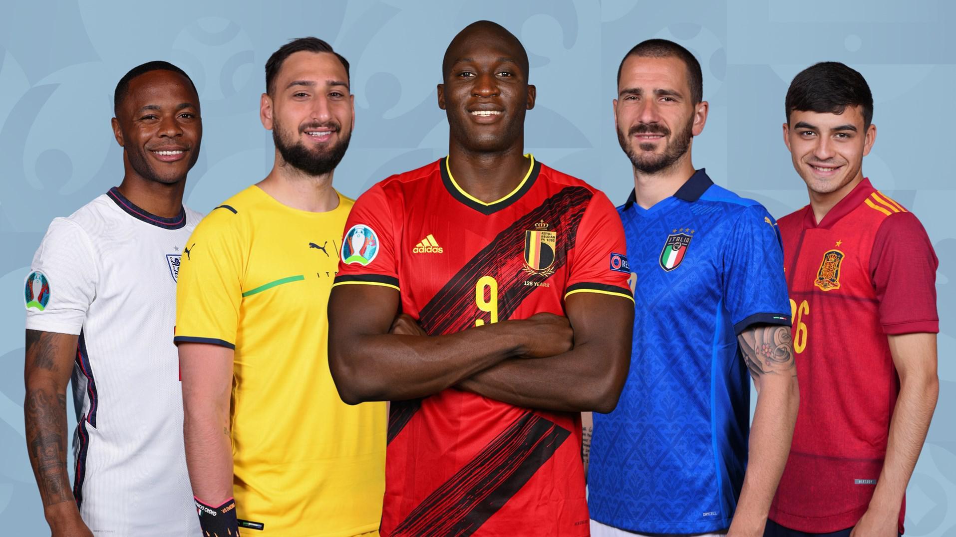 EURO Team of the Tournament