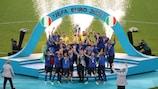 Italia salió campeona en Wembley