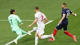 Benzema goal vs Switzerland from all angles