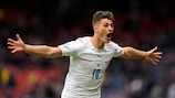 Watch Schick's goal from halfway from all angles