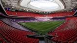 O Estádio San Mamés recebeu três jogos na inédita edição com de 2020, decidida numa final a oito