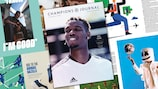 Paul Pogba is one of the cover stars of Issue 8 of Champions Journal