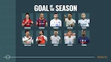 Vote for your Goal of the Season