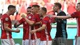 Highlights: Ungarn - Frankreich 1:1