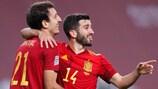 A Espanha venceu a Alemanha em Sevilha