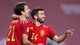 Spanien durfte gegen Deutschland sechs Mal jubeln