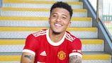 Jadon Sancho has joined Manchester United from Borussia Dortmund