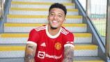 Sancho, flamante fichaje del Manchester United