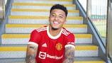 Jadon Sancho è passato al Manchester United dal Borussia Dortmund