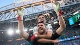 Schweiz gegen Spanien: Das komplette Elfmeterschießen