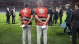 Anti-doping chaperones at UEFA EURO 2020