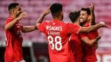 O Benfica entra em campo na terceira pré-eliminatória