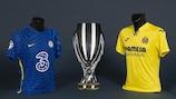 La Supercoppa UEFA e le maglie delle squadre che si affronteranno nel 2021