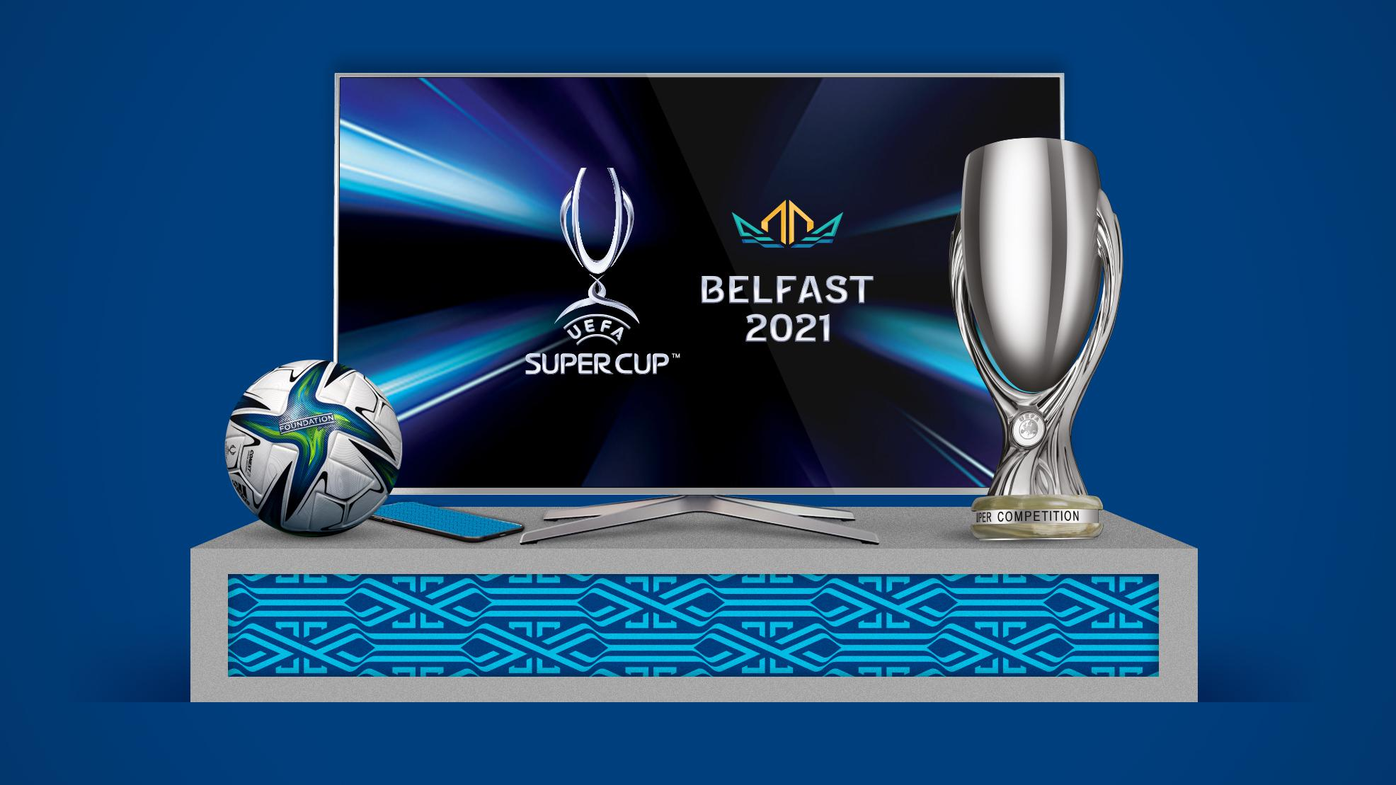 Where to watch the UEFA Super Cup: TV broadcast partners, live streams