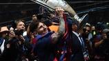I miei momenti con Lionel Messi