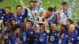 Mira cómo el Chelsea levanta la Supercopa