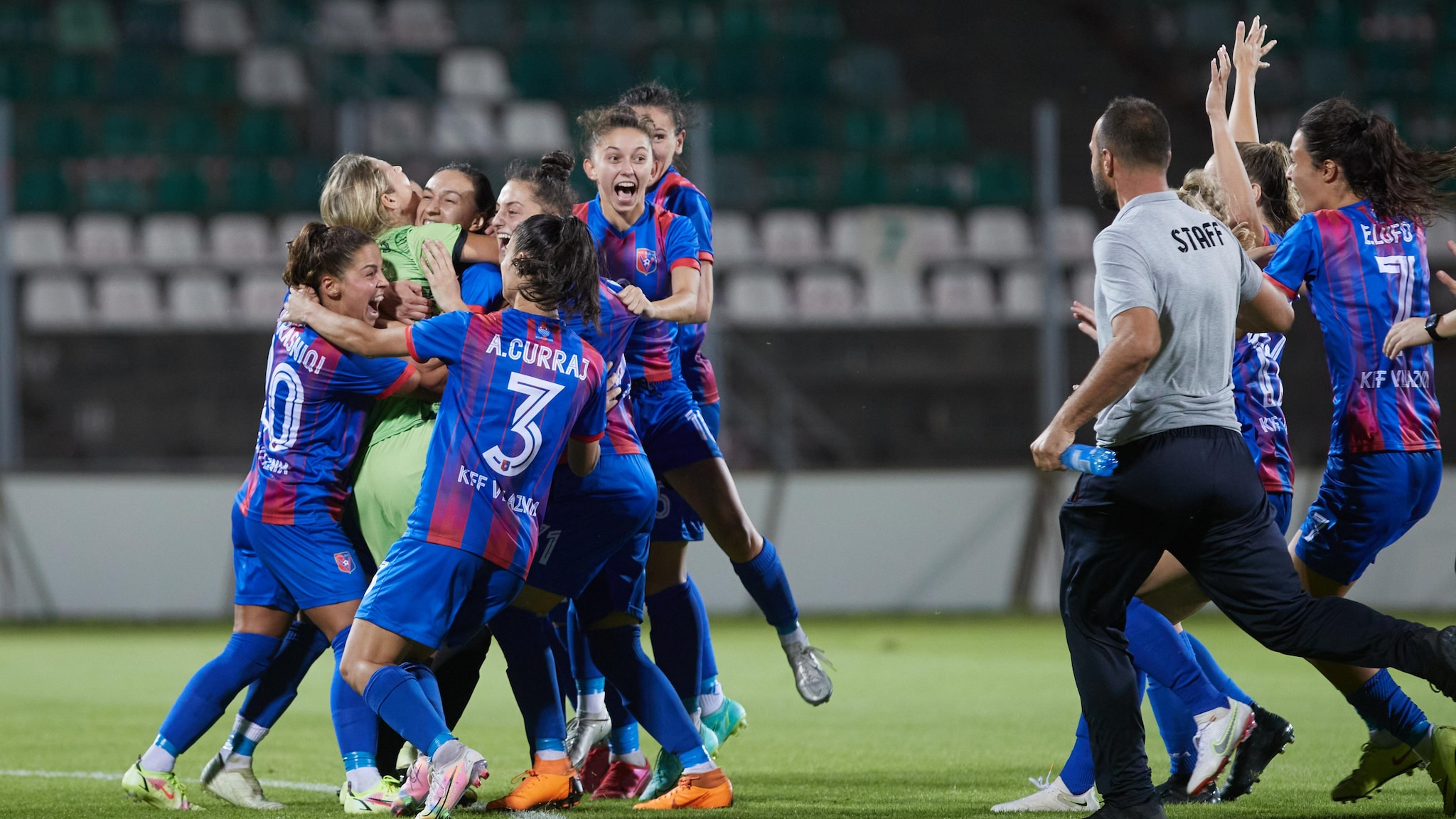 Women's Champions League round 1: see who through