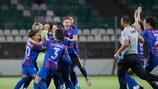 Vllaznia batió al Ferencváros en los penaltis