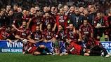 O AC Milan venceu o troféu em 2007
