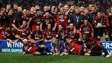 Il Milan ha vinto il suo quinto titolo nel 2007
