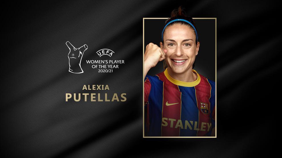 Alexia Putellas, Jugadora del Año de la UEFA 2020/21 | UEFA Women's Champions  League | UEFA.com