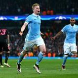Recuerda este magnífico remate de la estrella belga del Manchester City en su victoria contra el París Saint-Germain en los cuartos de final de la 2015/16.