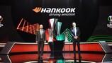A Hankook continua a ser patrocinadora da UEFA Europa League, desta vez incluindo os direitos adicionais concedidos pelo aparecimento da nova UEFA Europa Conference League