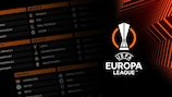 Europa League fixtures, results