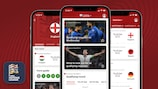 Follow the European Qualifiers with the official app