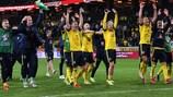 La Suède se réjouit de sa victoire sur l'Espagne