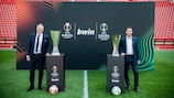 UEFA has announced a ground-breaking partnership with bwin to become an Official Partner of the UEFA Europa League and the UEFA Europa Conference League, for the next three seasons