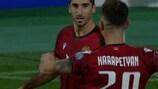 Highlights: Armenia 1-1 Liechtenstein