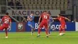 En deux minutes, Macédoine du Nord 0-0 Roumanie