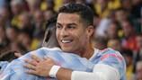 Ronaldo eguaglia il record di presenze