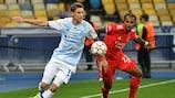 En deux minutes, Dynamo Kyiv 0-0 Benfica