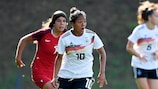 Germany were involved in the first game as the Women's U19s returned