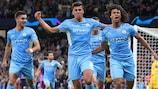 El Manchester City marcó seis goles al Leipzig