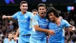 Manchester City scored six against Leipzig