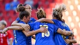 Italy started with a defeat of Moldova