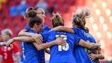 Italia ganó a Moldavia