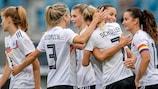 Lea Schüller traf in den ersten beiden Spielen der DFB-Frauen sechsmal