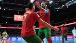 Portugal beat Serbia to set up a quarter-final with Spain
