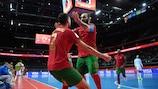 Portugal ganó a Serbia y se medirá a España