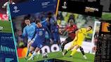 Imágenes de los informes técnicos de la UEFA